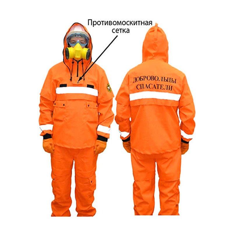 Пожарный костюм добровольца «ШАНС» (Премиум)